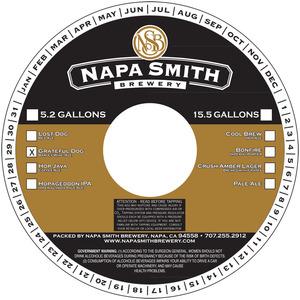 Napa Smith Brewery Grateful Dog