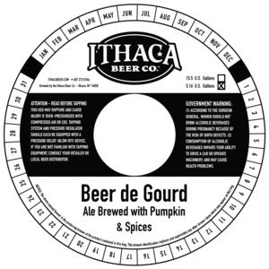 Ithaca Beer Company Beer De Gourd