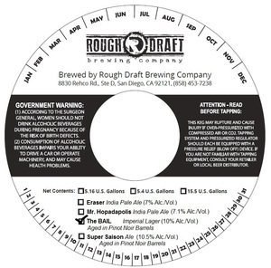 Rough Draft Brewing Company The Bail
