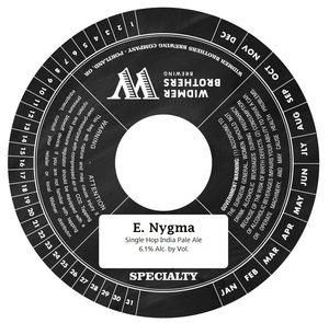 Widmer Brothers Breweing Company E. Nygma