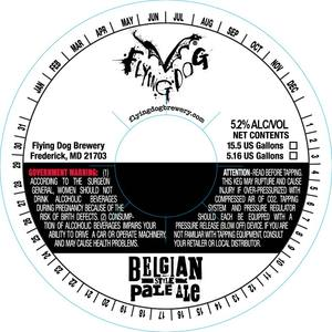 Flying Dog Belgian Style Pale Ale