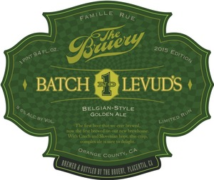The Bruery Levud's