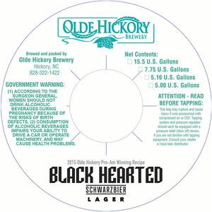 Olde Hickory Brewery Coeur Noir