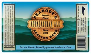 Olde Hickory Brewery Bière Appalachian de Peabody