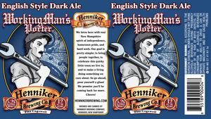 Henniker Brewing Company Working Man's Porter