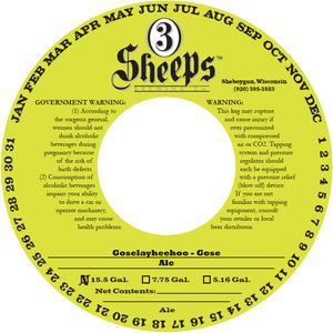 3 Sheeps Brewing Co. Goselayheehoo