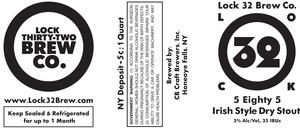 Lock 32 Brew Co. 5 Eighty 5