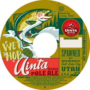 Uinta Brewing Company Uinta Session Pale Ale