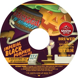 Uinta Brewing Company Jacked B Nimble