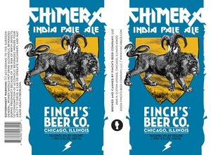 Finch's Beer Company LLC Chimera India Pale Ale