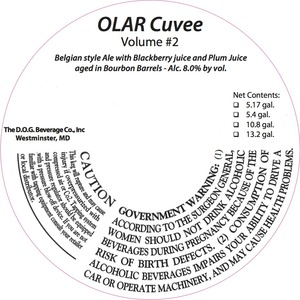 Olar Cuvee Volume #2