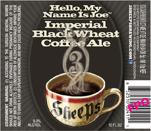 3 Sheeps Brewing Co. Hello, My Name Is Joe