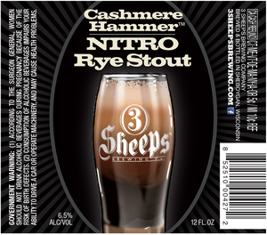 3 Sheeps Brewing Co. Cashmere Hammer