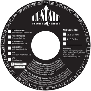 Upstate Brewing Company Aussie IPA