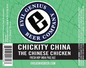 Evil Genius Beer Company Chickity China The Chinese Chicken