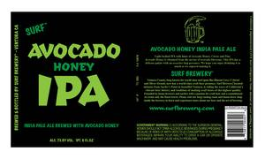 Avocado Honey Ipa India Pale Ale Brewed With Avocado Honey