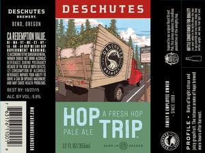 Deschutes Brewery Hop Trip