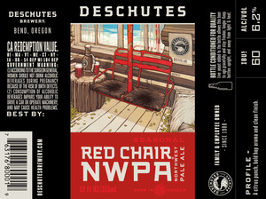 Deschutes Brewery Red Chair August 2015