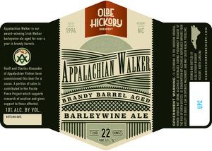 Walker appalachien de la brasserie Olde Hickory