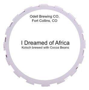 Odell Brewing Company I Dreamed Of Africa