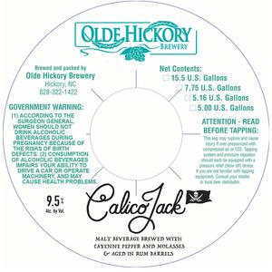 Brasserie Olde Hickory Calico Jack