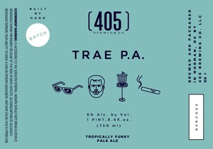 (405) Brewing Co. Trae P.a. August 2015