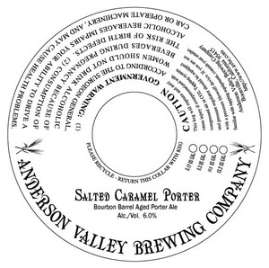 Anderson Valley Brewing Company Salted Caramel Porter