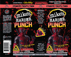 Mike's Harder Strawberry Pineapple Punch