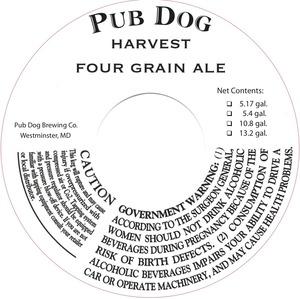 Pub Dog Harvest Four Grain