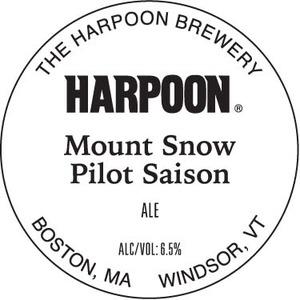 Harpoon Mt Snow Pilot