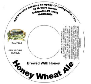 Appalachian Brewing Company Honey Wheat Ale