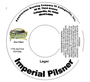 Appalachian Brewing Company Imperial Pilsner