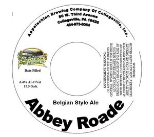 Appalachian Brewing Company Abbey Roade