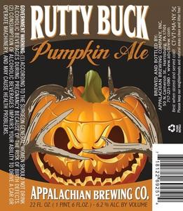 Appalachian Brewing Company, Inc. Rutty Buck Pumpkin Ale