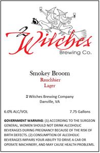 2 Witches Brewing Company Smokey Broom