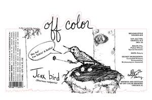 Off Color Brewing Jerkbird