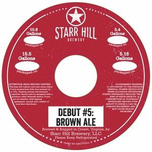 Starr Hill Brown Ale
