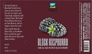 Upland Brewing Company Black Raspberry Lambic