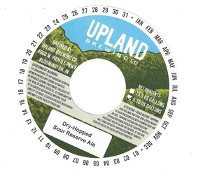 Upland Brewing Company Dry Hopped Sour Reserve