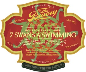 The Bruery Barrel-aged 7 Swans-a-swimming