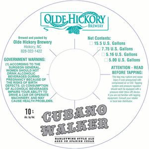 Brasserie Cubaine Walker Olde Hickory