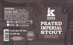 Kees Peated Imperial Stout