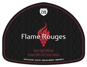 Coachella Valley Brewing Co Flame Rouges