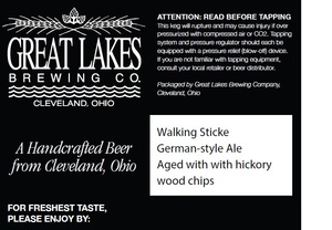 The Great Lakes Brewing Co. Walking Sticke