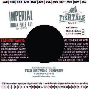Fish Tale Ales Imperial India Pale Ale