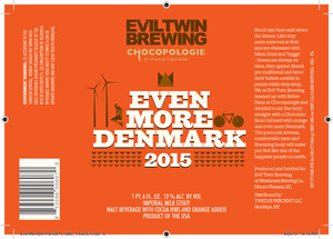 Evil Twin Brewing Even More Denmark 2015 September 2015