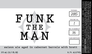River North Brewery Funk The Man