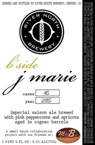 River North Brewery B'side J Marie