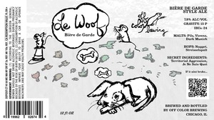 Off Color Brewing Le Woof