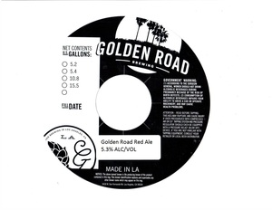 Golden Road Golden Road Red Ale